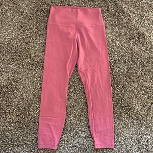 LULULEMON Align 7/8 Mauve Pink Leggings